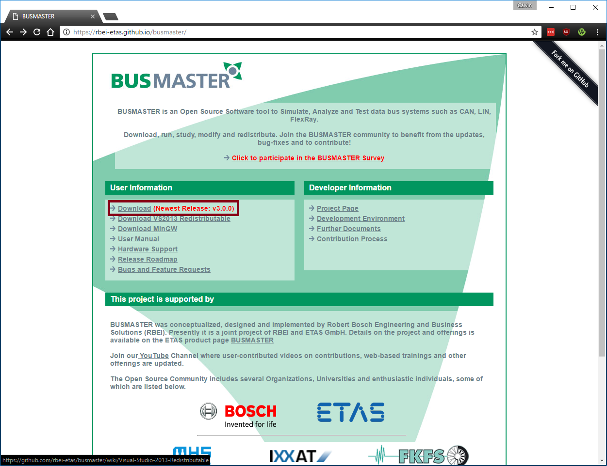 BusMaster - Embedded Systems Learning Academy