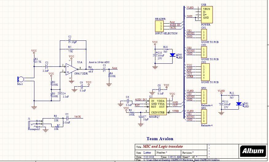 Led Music Visualizer Circuit