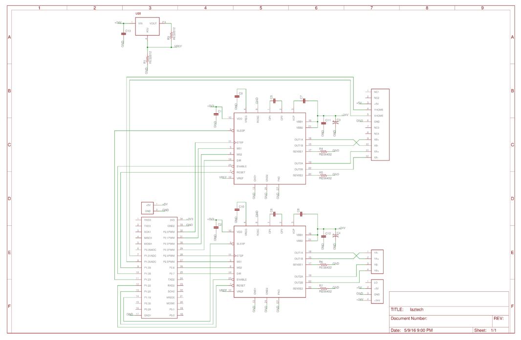 s16  laser cutter motor controller