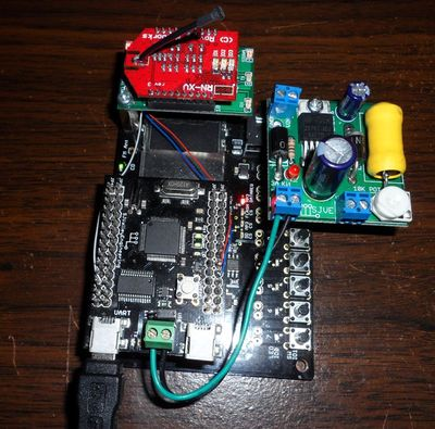Figure 10. NXP LPC2148 MP3 Player with WiFly Module