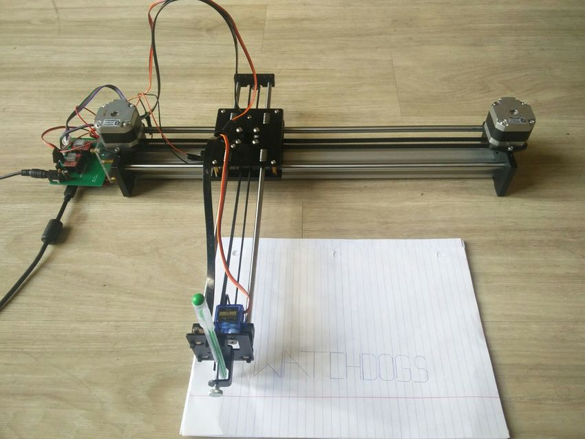 S18: XY-Plotter - Embedded Systems Learning Academy